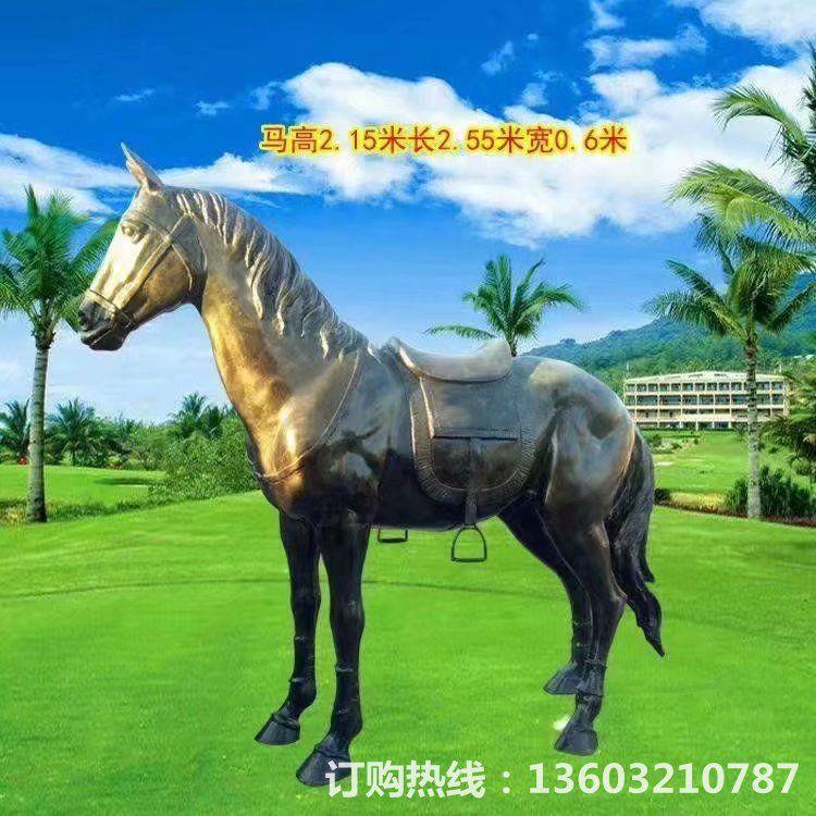 玻璃钢仿铜马雕塑,各式仿铜马雕塑2